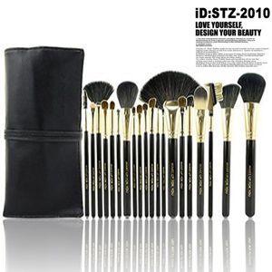 20本メイクブラシセット 化粧ブラシセット メイクブラシ収納ケース付  STZ-2010|oroshi-ee