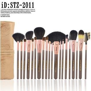 20本メイクブラシセット 化粧ブラシセット メイクブラシ収納ケース付  STZ-2011|oroshi-ee