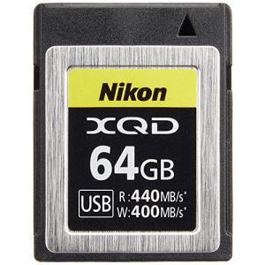 Nikon XQDメモリーカード 64GB MC-XQ64G oroshinestore