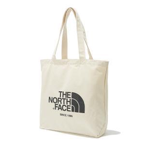 (ザ・ノースフェイス) THE NORTH FACE COTTON TOTE NN2PK57K アイボリー トートバッグ|oroshinestore