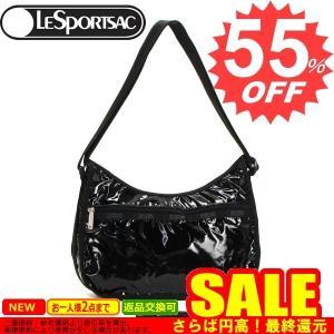 レスポートサック 斜め掛けバッグ LESPORTSAC BLACK PATENT 7520 CLASSIC HOBO   9908 BLACK PATENT 比較対照価格 16,740 円 oroshiya