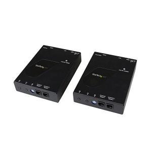 スターテック.com IP対応HDMI延長分配器キット 1080p対応 LAN回線経由型HDMI信号エクステンダー送受信機セット Cat 5e/6