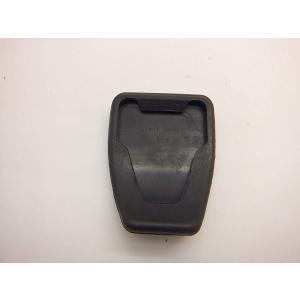 日産 マーチ(K13T)ペダルパッドカバー アルミ黒 横6cm