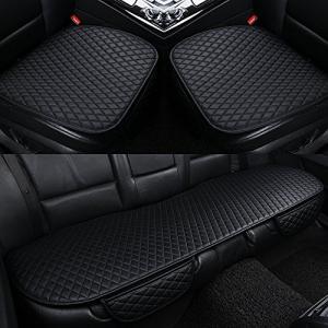 車用 シートカバーセット カーシートクッショ 前座席用2枚+後部座席用1枚 カーシートカバー 座布団...