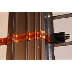 同軸ケーブル 室内引込用 フラット ケーブル 30cm 地デジ BS対応 F型接栓 すき間 すきま 隙間フラットケーブルBSアンテナ等サッシ orsshop