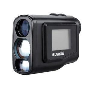suaoki 600m レーザー距離計 携帯型レーザー距離計 ゴルフ用 光学6倍望遠 LCD液晶モニ...