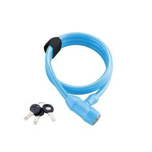 BRIDGESTONE(ブリヂストン) ワイヤー錠 タフガードロック ブルー 120cm WL-TG...