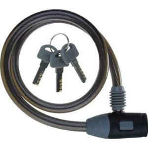 J&C(ジェイアンドシー) ワイヤーロック JC-020W φ10mm×600mm ブラック