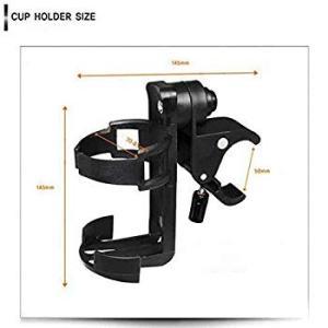 自転車ボトルケージクイックリリース水のカップホルダー360度ケージを回転させることが、多官能性