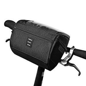 自転車 フロント サイクルバッグ 自転車バッグ 収納可能 大容量 ロードバイク バッグ 防水 サイクリング ウェッジパック 自転車 スタンド|orsshop