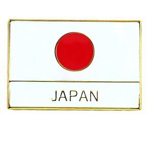ピンバッジ 日の丸 ジャパン 日本 の 国旗 ピンズ JAPAN 英語表記 ピンバッチ