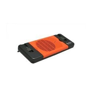 ミニノートブック冷却パッドfor 7インチ~ 15インチノートパソコン、ファン、オレンジ色エレクトロ...