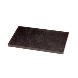 黒塗り長角板10号|orudo