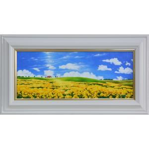 絵画 油絵WF3 幸せの丘 里中 游画|orudo