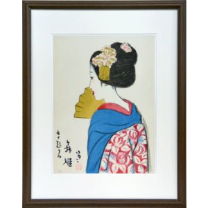 絵画 リトグラフ 舞姫  竹久夢二 orudo