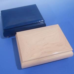 曲目選択 ミーティス 30弁イタリアンスタイル宝石箱(アイボリー/ブルー)  サービスプレート付き  高級オルゴール|orugoruya