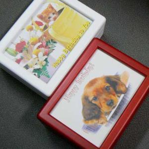 曲目選択 蓋ガラス宝石箱オルゴール 動物 誕生日|orugoruya