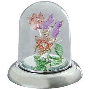 10曲から選択 光ドーム ガラス オルゴール(カラー ライト付き)|orugoruya