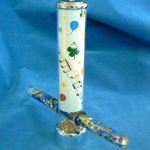 万華鏡(オルゴ君 オイル式 スタンド型)オルゴール 桜  |orugoruya