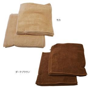 バンドタオル/業務用ハンドタオル/タオル/  細い糸で丁寧に織り上げた品質の高いタオル。 色落ちに強...