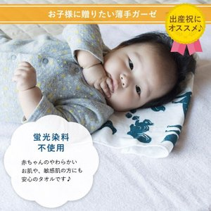 フェイスタオル ガーゼタオル ハッピータオル  日本製 泉州タオル ポイント消化 送料無料|oruta|09