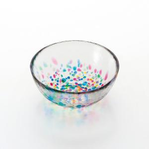 東北三大夏祭りのひとつである「ねぶた祭り」の 鮮やかさを8色の色ガラスに映しとりました。 ガラスの透...