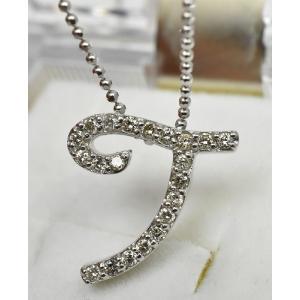 K18WG 合計 0.25ct ダイヤモンド ペンダントネックレス|osaka-jewelry