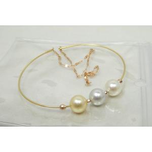 【新品】真珠 パール マルチ ブレスレット K18 K18PG|osaka-jewelry