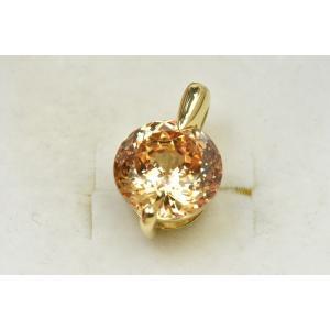 K18 綺麗な キュービック ジルコニア ペンダントトップ|osaka-jewelry