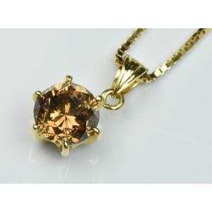 K18 一粒 1.135ct ダイヤモンド ペンダントネックレス|osaka-jewelry