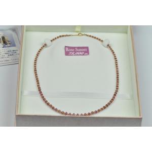 K18 ゴールド ピンクトルマリン ネックレス 6.0g|osaka-jewelry