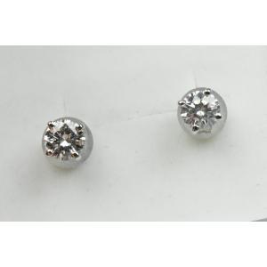 【新品】0.635ct プラチナ ピアス ダイヤモンド 鑑定書|osaka-jewelry