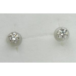 プラチナ Pt900 0.30ct ダイヤモンド ピアス|osaka-jewelry