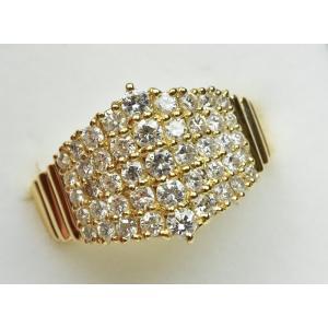 K18 ゴールド 合計 1.00ct ダイヤモンドリング 12号 指輪|osaka-jewelry