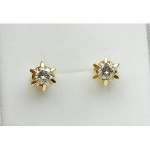 K18 ゴールド 0.50ct ダイヤモンド ピアス|osaka-jewelry