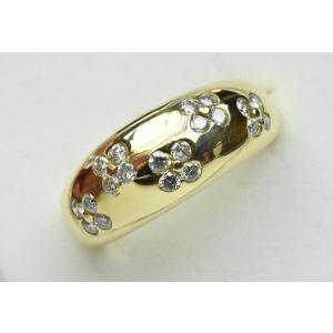 K18 ゴールド 合計 0.50ct ダイヤモンドリング 9.5号 指輪|osaka-jewelry