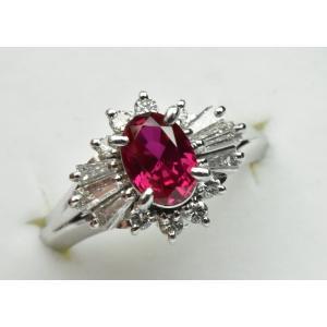 京セラ クレサンベール 綺麗な ルビー リング 10号 指輪|osaka-jewelry