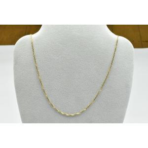 K18 ゴールド ロングネックレス 61cm 4.5g|osaka-jewelry