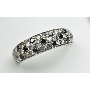 K18WG パヴェ 合計 1.00ct ダイヤモンドリング 12号 指輪|osaka-jewelry