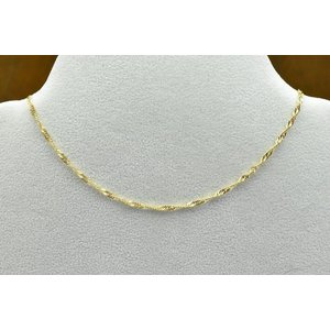 K18 ゴールド 18金 ネックレス 45cm|osaka-jewelry