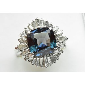 京セラ クレサンベール アレキサンドライト リング 12号 指輪|osaka-jewelry