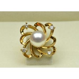 TASAKI タサキ 綺麗なパール ピンブローチ タイタック|osaka-jewelry