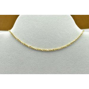 K18 750 イタリー デザインネックレス 6.0g|osaka-jewelry