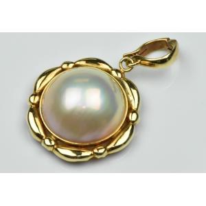 K18 ゴールド マベパール ペンダントトップ osaka-jewelry