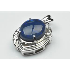 【鑑別】Pt900 ブラックオパール 3.89ct ペンダントトップ osaka-jewelry