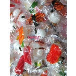 【メール便送料無料】業務用菓子問屋GGニューエスト 500g すしキャンディ×1袋 +税 |osaka|03
