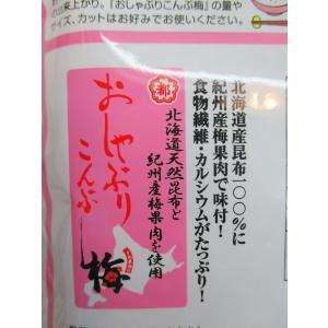 【メール便送料無料】業務用菓子問屋GG中野物産 43g おしゃぶり昆布梅×4袋|osaka|04
