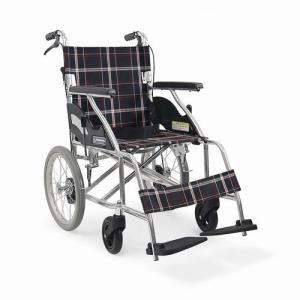 KV16-40SB  標準型車椅子 (後輪ノーパンクタイヤ 介助型) カワムラサイクル |osakababy