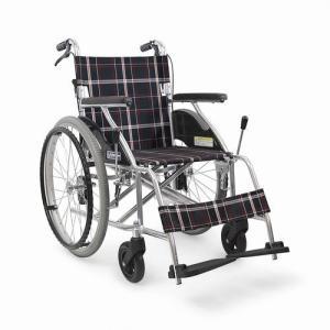 KV22-40SB  標準型車椅子 (後輪ノーパンクタイヤ 自走型) カワムラサイクル|osakababy