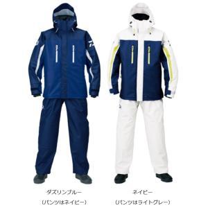 ダイワ(daiwa) DR-6007 PUオーシャンサロペットレインスーツ ダズリンブルー/ネイビー...